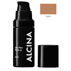 Matující make-up - Silky Matt Make-up - dark - 30 ml