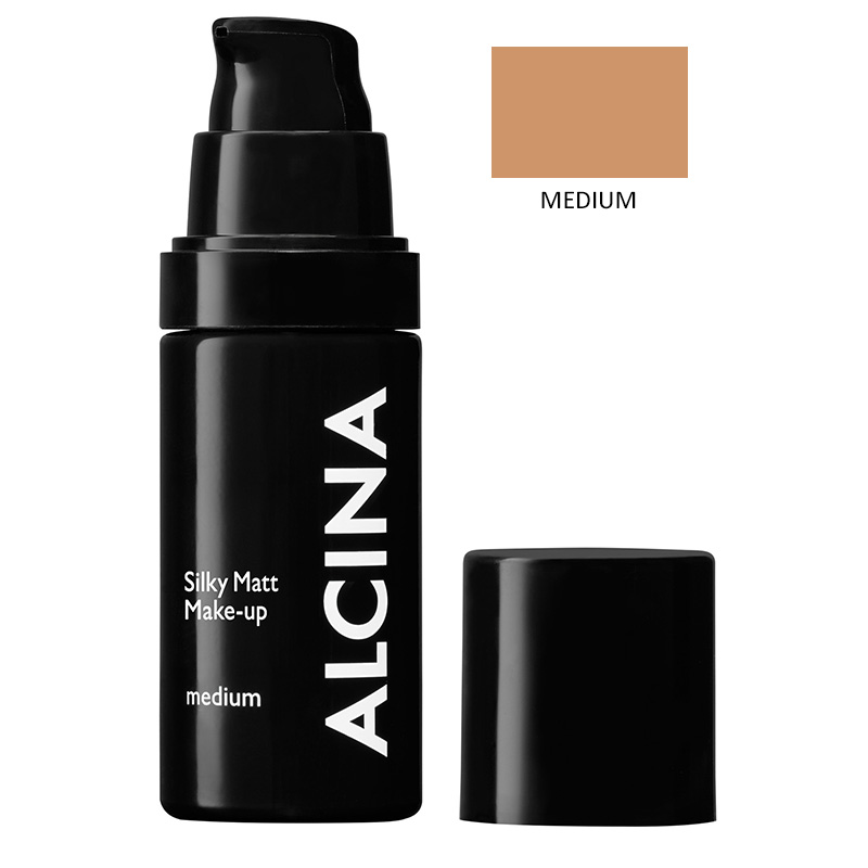 Alcina - Matující make-up Silky Matt Make-up - medium